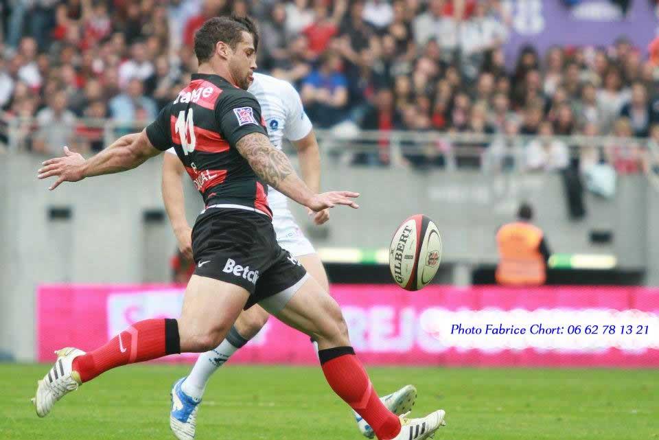 photo de Luke Mc Alister du Stade Toulousain