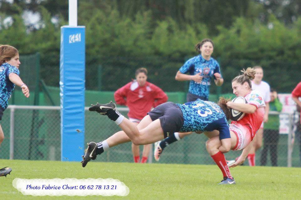 super plaquage de rugby féminin