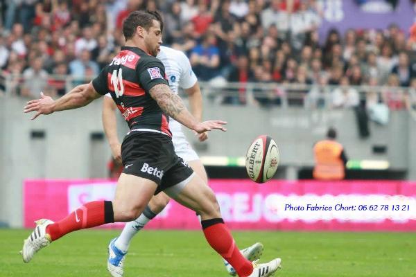 joueur de rugby du Stade Toulousain Luke Mc Alister