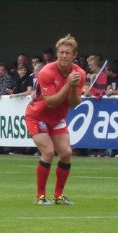 Le buteur Jonny Wilkinson