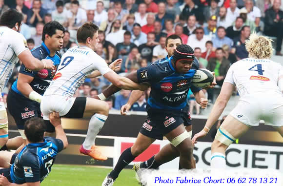 demi-finale de rugby Castres Montpellier à LIlle