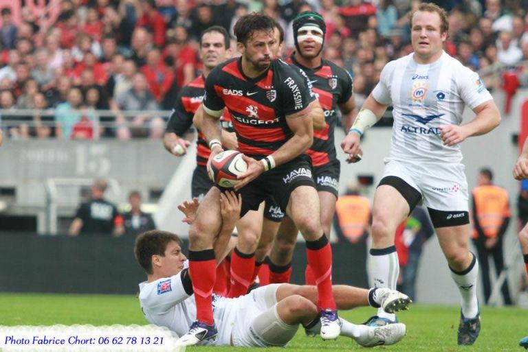 joueur de rugby Clément Poitrenaud