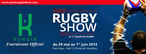 logo du Paris Rugby Show